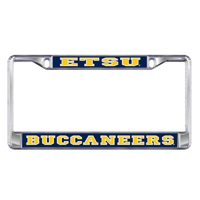 ETSU Metal License Plate Frame