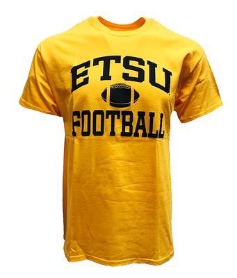 ETSU Basic Football Tee GOLD