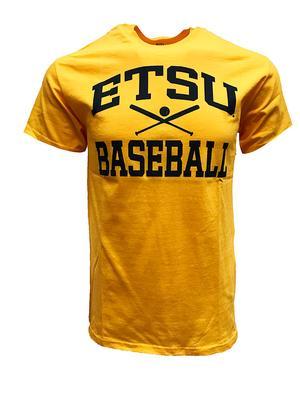 ETSU Basic Baseball Tee GOLD