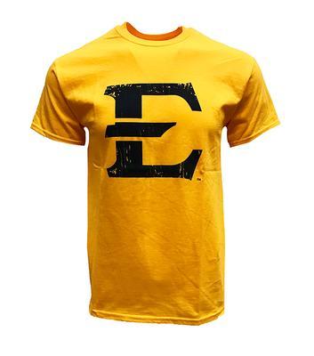 ETSU Giant E Logo Tee GOLD