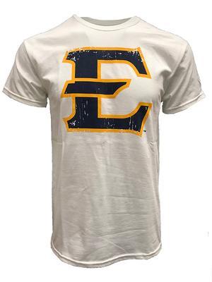 ETSU Giant E Logo Tee WHITE