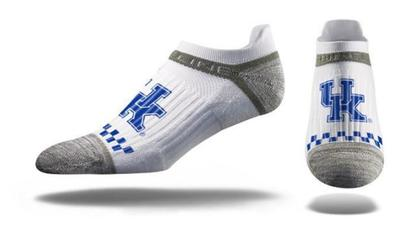 Kentucky Strideline Logo No Show Socks