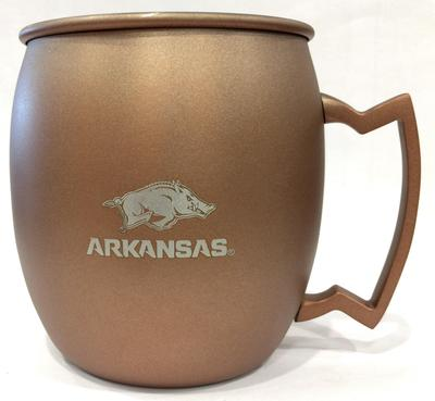 Arkansas 16oz Copper Mug