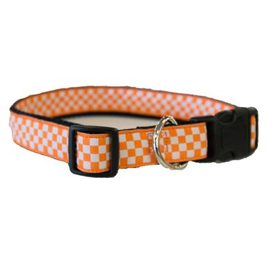 Tennessee Checkerboard Pet Collar