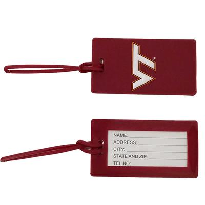 Virginia Tech Luggage Tag