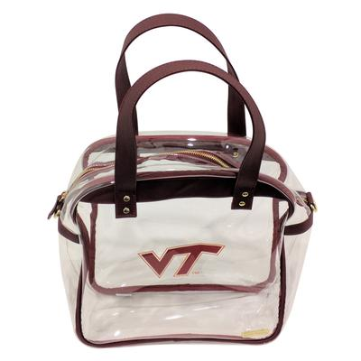 Virginia Tech Clear Carryall Tote