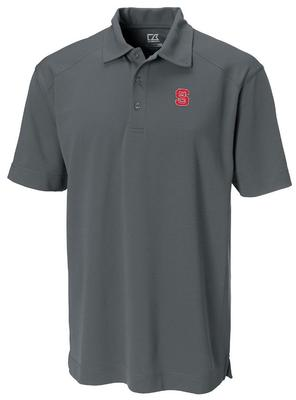 NC State Cutter And Buck DryTec Genre Polo ONYX
