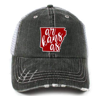 Katy State Of Arkansas Trucker Hat