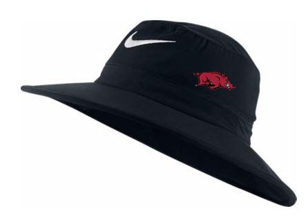 Arkansas Nike Golf Sun Bucket Hat