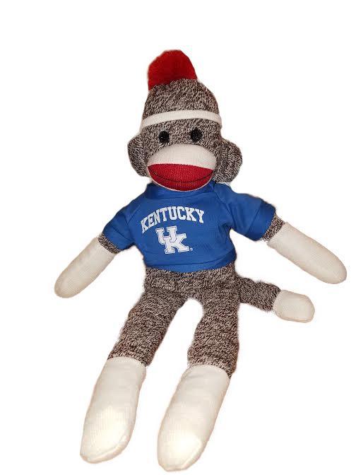Kentucky Wildcats Sock Monkey