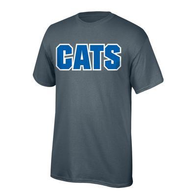 Kentucky CATS Straight Tee GRAPHITE