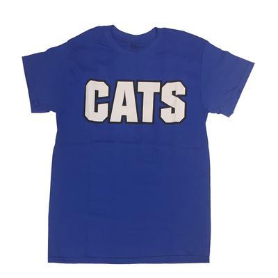 Kentucky CATS Straight Tee ROYAL