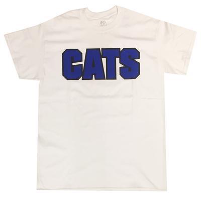 Kentucky CATS Straight Tee WHITE