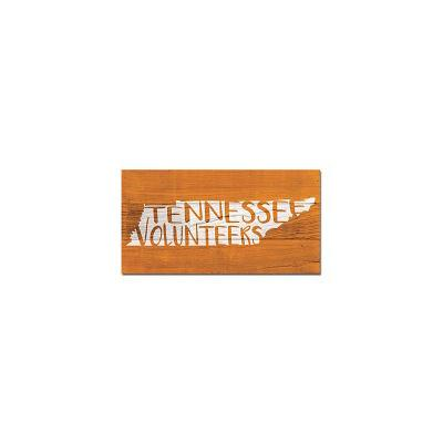 Tennessee Legacy Freehand State Wooden Plank Sign