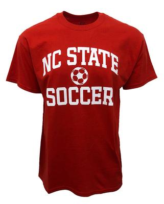 NC State Basic Soccer Tee RED