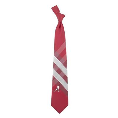 Alabama Woven Polyester Grid Tie