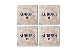 Auburn Legacy Laurels Coaster Set - 4 Pack