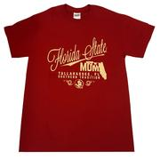 Florida State Mom Script Stack T- Shirt