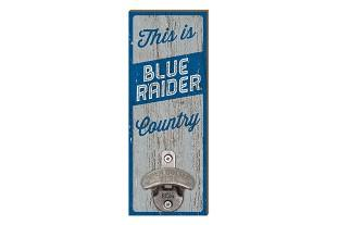 MTSU Legacy Blue Raider Country Wall Mount Bottle Opener