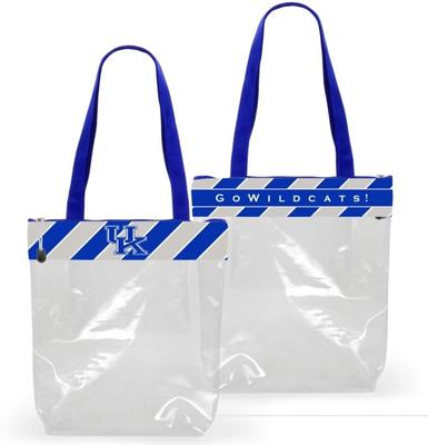 Kentucky Clear Zip Stadium Tote