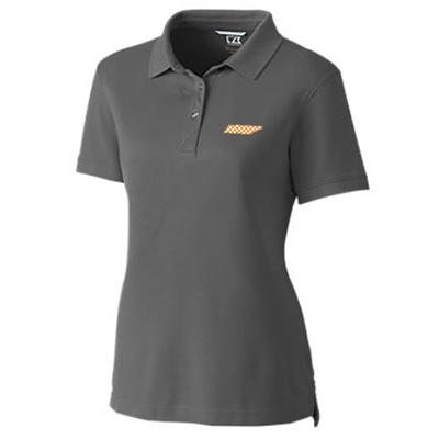 Tennessee Cutter and Buck Women's Advantage DryTec Polo ELEMENTAL_GREY