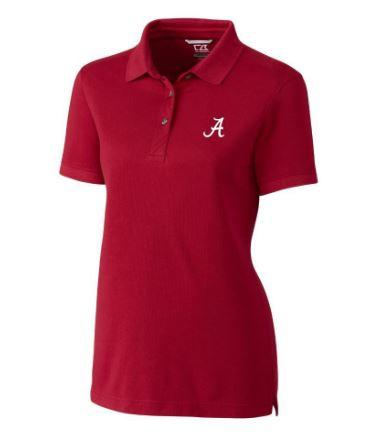 Alabama Cutter And Buck Women's Advantage Drytec Polo