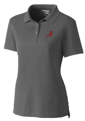 Alabama Cutter And Buck Women's Advantage DryTec Polo ELEMENTAL_GREY