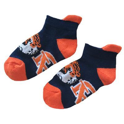 Auburn Youth Footie Sock