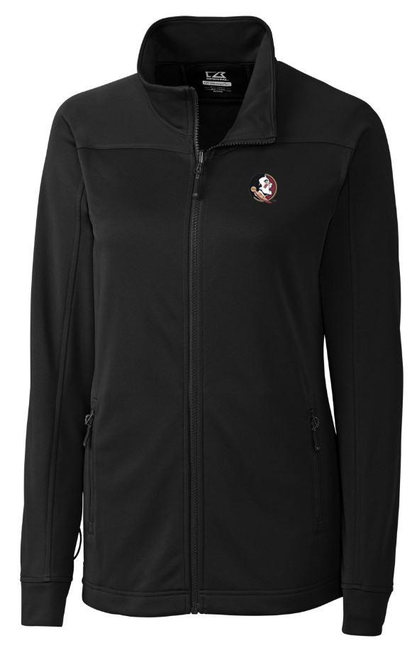 Florida State Cutter And Buck Women's Weathertec Peak Full Zip