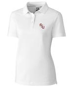 Florida State Cutter And Buck Women's Advantage Drytec Polo