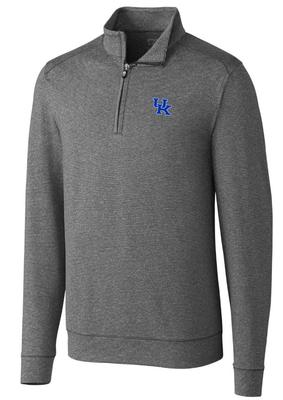 Kentucky Cutter & Buck Big and Tall Shoreline 1/2 Zip Pullover