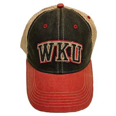 Western Kentucky Legacy Arch Logo Adjustable Trucker Hat
