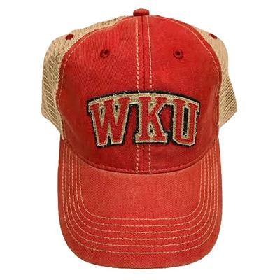 Western Kentucky Legacy Arch Logo Adjustable Trucker Hat