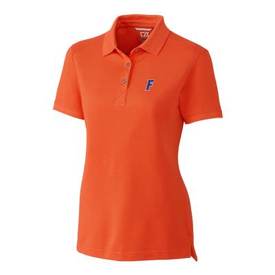 Florida Cutter And Buck Women's Advantage DryTec Polo COLL_ORANGE