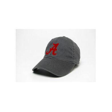 Alabama Legacy Varsity Twill Adjustable Hat DK_GREY