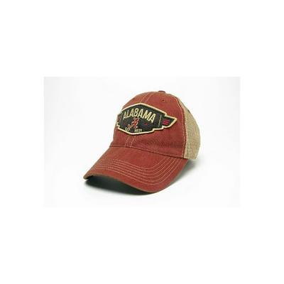 Alabama Legacy Wings Mesh Adjustable Hat
