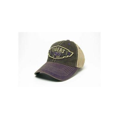 LSU Legacy Wings Mesh Adjustable Hat