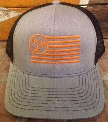 TriStar Hat Co Smokey Grey Trucker Hat