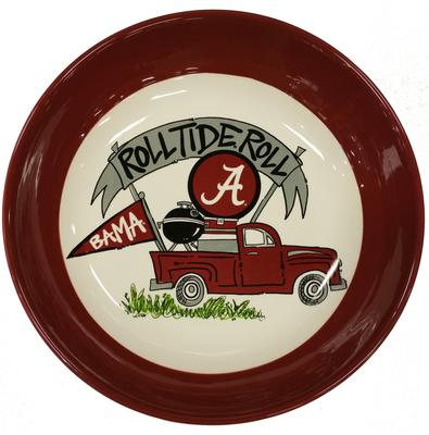 Alabama Roll Tide Truck Bowl