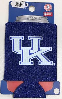 Kentucky Can Coozie Glitter