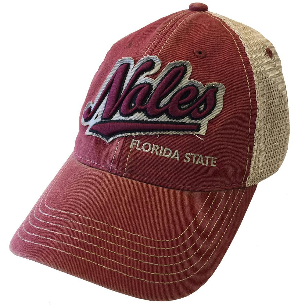 Florida State Legacy Adjustable Salutation Trucker Hat