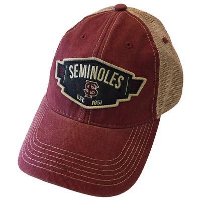 Florida State Legacy Wings Meshback Adjustable Hat
