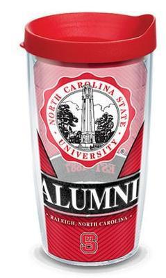 NC State Tervis 16oz Alumni Wrap Tumbler