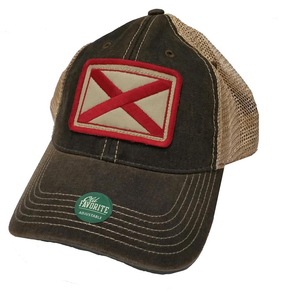 4d9b193bd Alabama Legacy State Flag Meshback Adjustable Hat - Alumni Hall