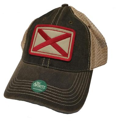 Alabama Legacy State Flag Meshback Adjustable Hat