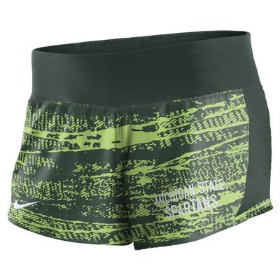 Michigan State Nike Women's Dry Crew Short