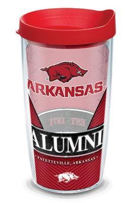 Arkansas Tervis 16 oz Alumni Wrap Tumbler