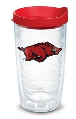 Arkansas Tervis 16 oz Hog Logo Tumbler