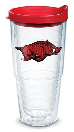 Arkansas Tervis 24 Oz Hog Logo Tumbler