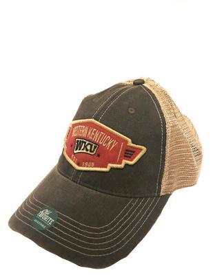 Western Kentucky Legacy Wings Mesh Adjustable Hat